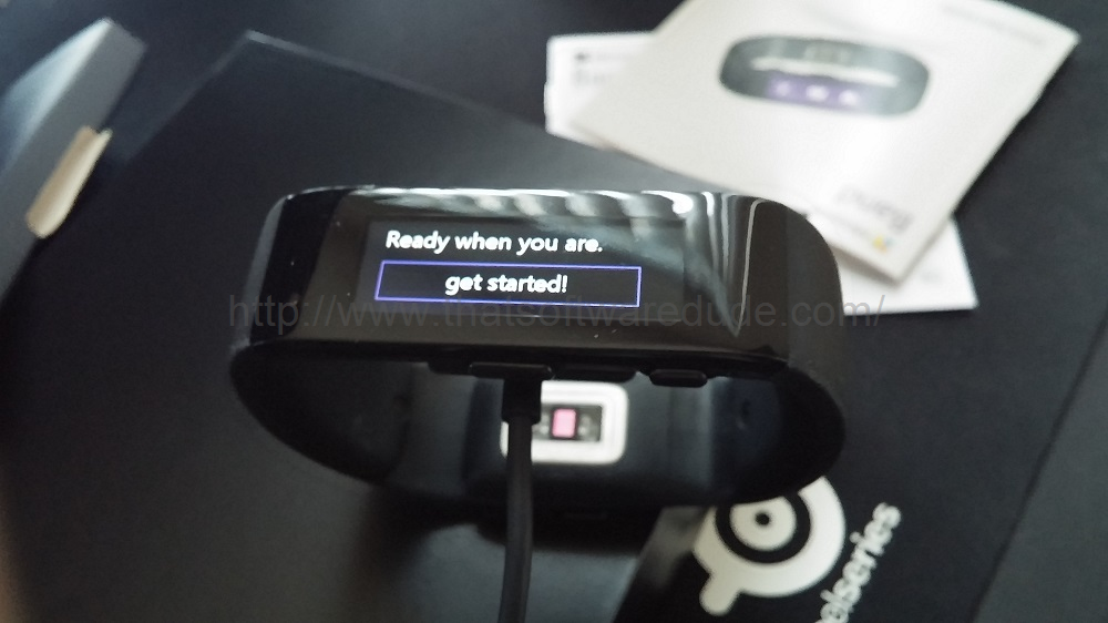 Microsoft Band Unboxing And First Impression
