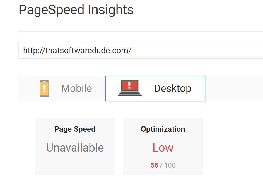Google says my website is slow, again. Let's fix that
