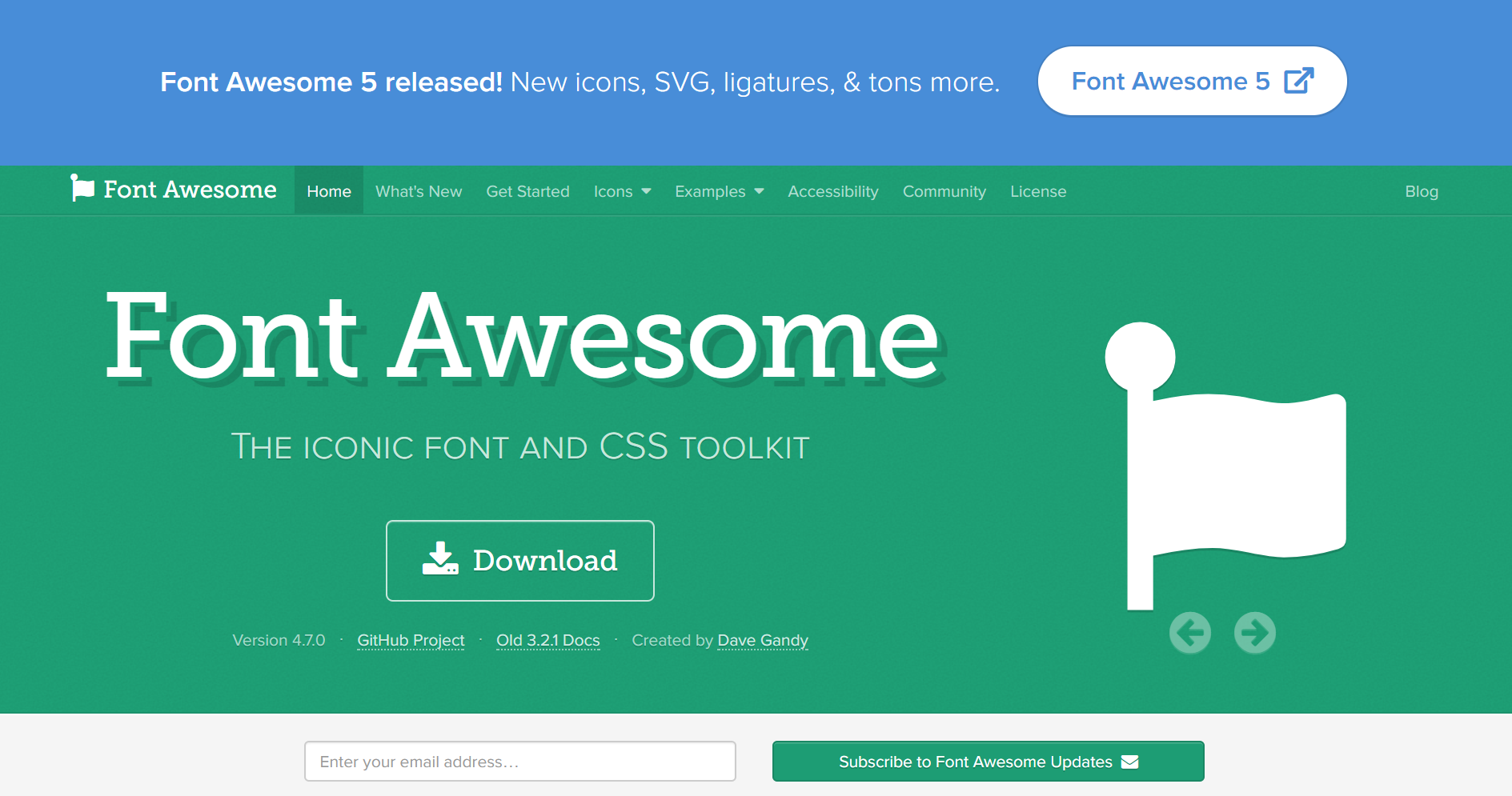 Font Awesome has changed the way that I build websites