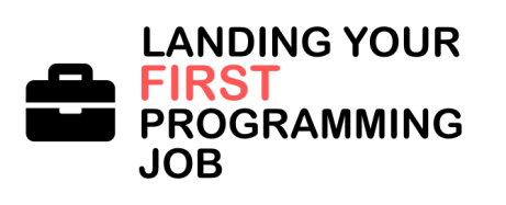 Landing your first programming job